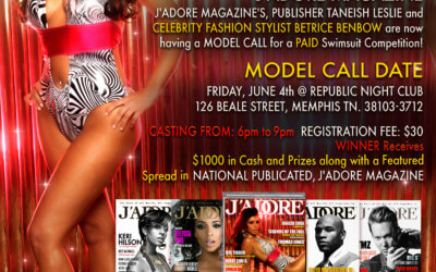 J'Adore Magazine Model Call & Sindustry Event