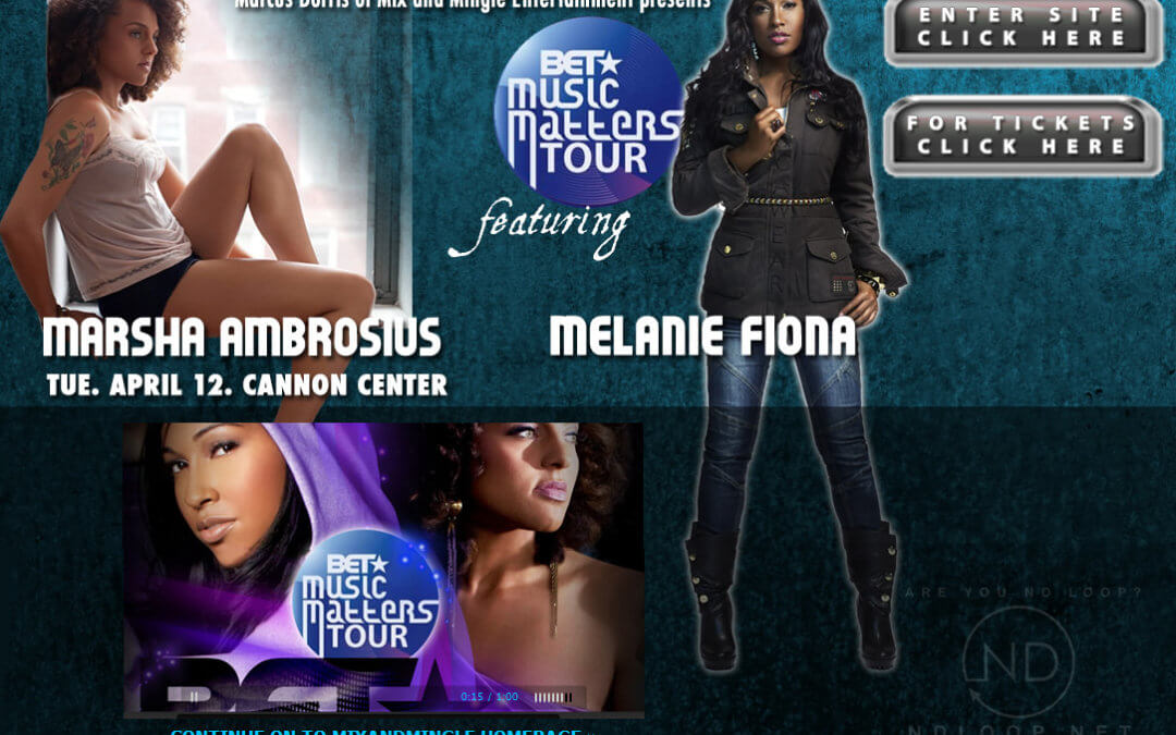 BET Music Matters Tour featuring Marsha Ambrosius