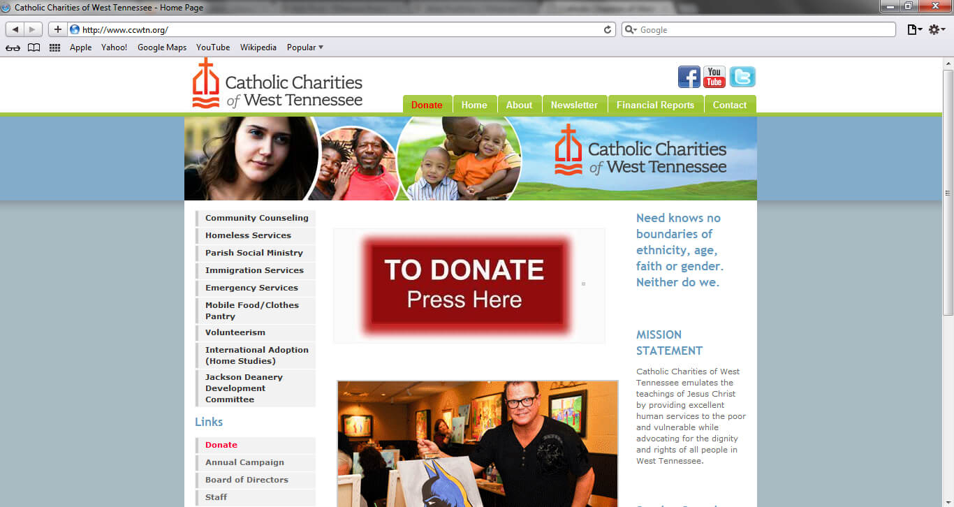 Cathloic Charities of West TN