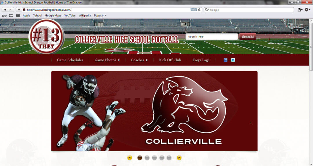 Collierville Dragons Football