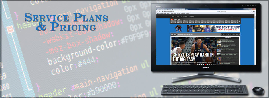 Website Service Plans