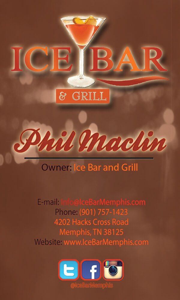 Phil Maclin Business Card