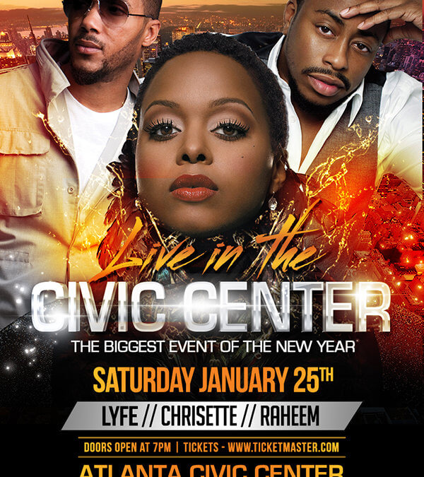 Live in the Civic Center Flyer
