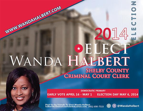 Wanda Halbert Political Campaign Back