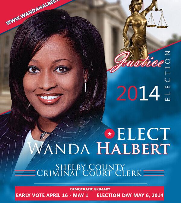 Wanda Halbert Political Campaign Front