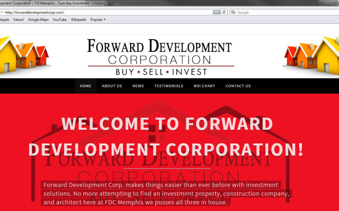 www.ForwardDevelopmentCorp.com