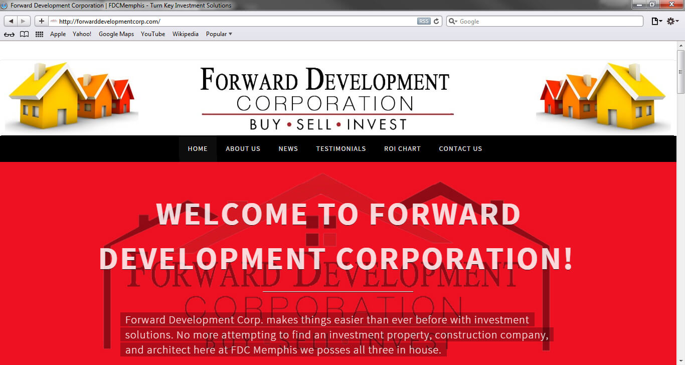 Forward Development Corporation