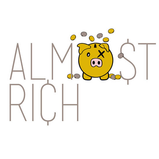 Almost Rich Logo