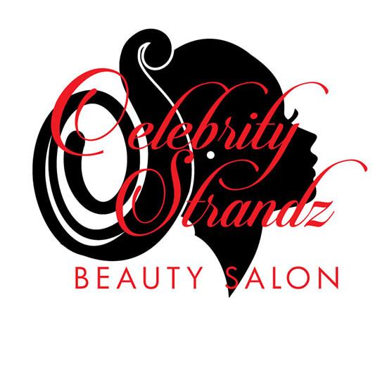 Celebrity Strands Beauty Salon Logo