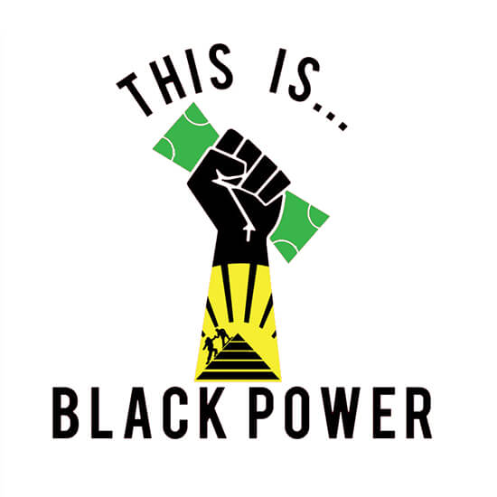The Is Black Power Logo