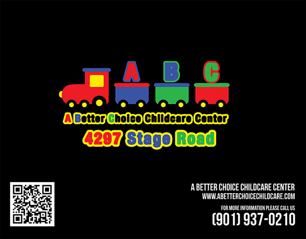 A Better Choice Childcare Postcard Design Back