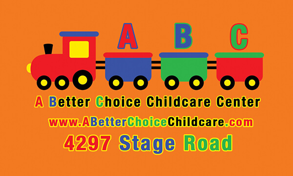 A Better Choice Childcare Business Card Back