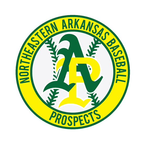 Northeastern Arkansas Baseball Prospects Logo
