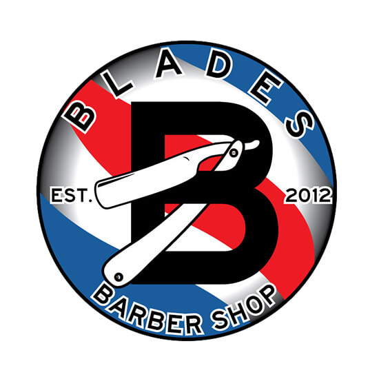 Blades Barber Shop Logo