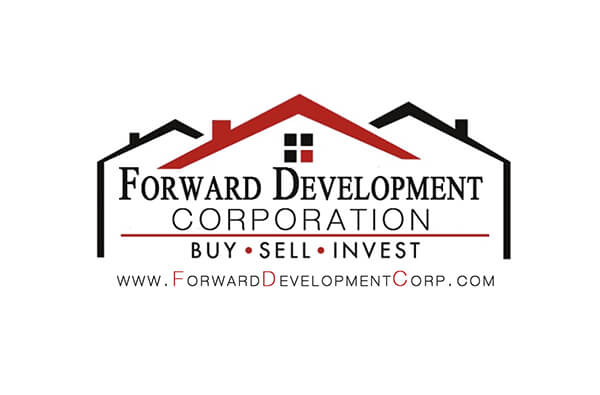 Forward Development Corp Business Card Back