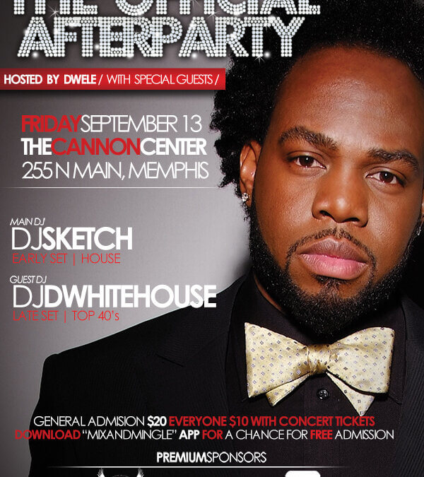 Dwele After Party Flyer
