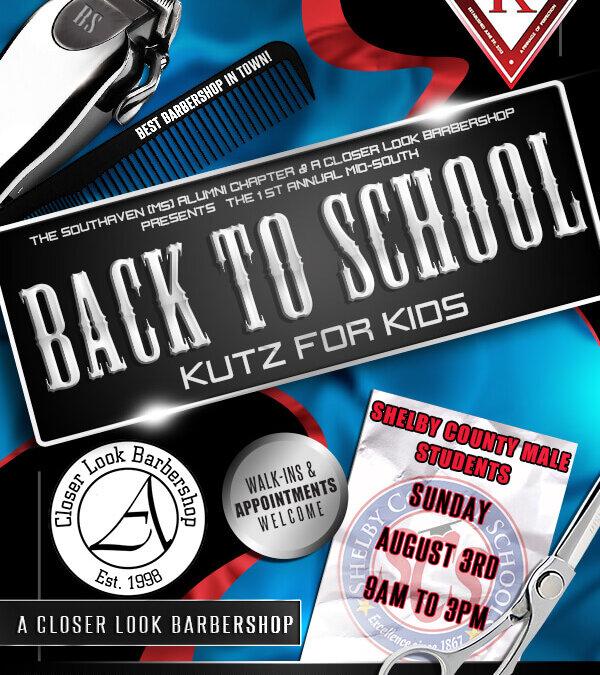 Kutz For Kidz Flyer