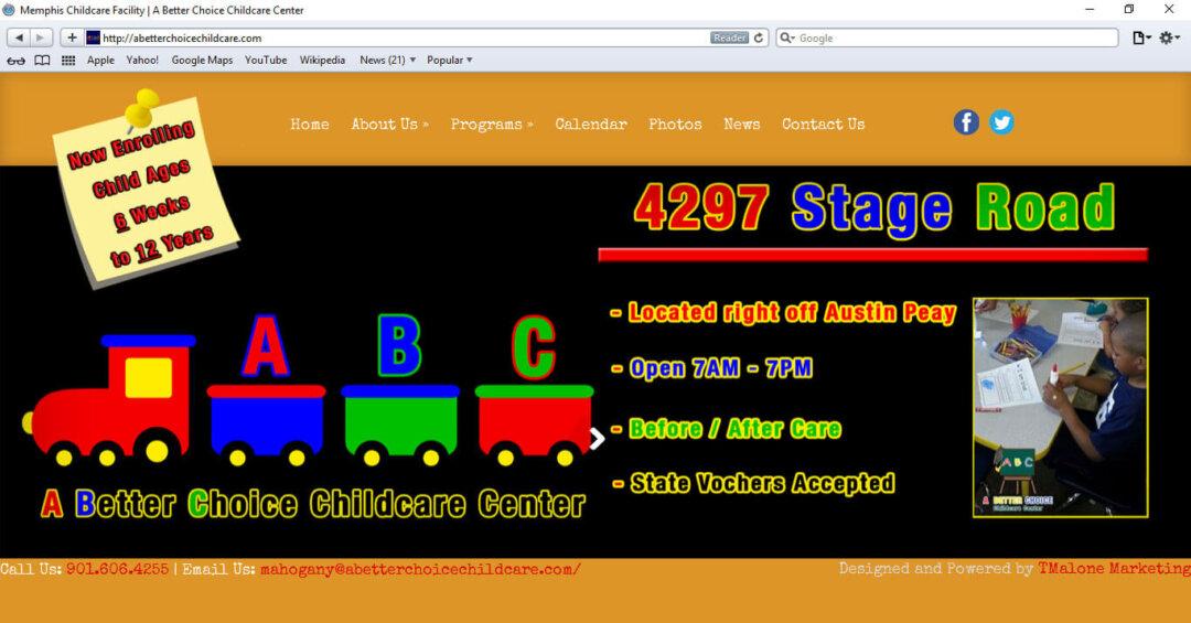 www.ABetterChoiceChildcare.com