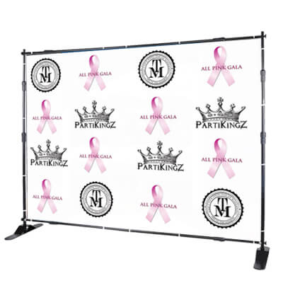 All Pink Gala Backdrop