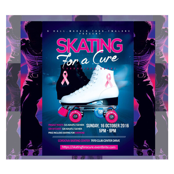 Skating For A Cure