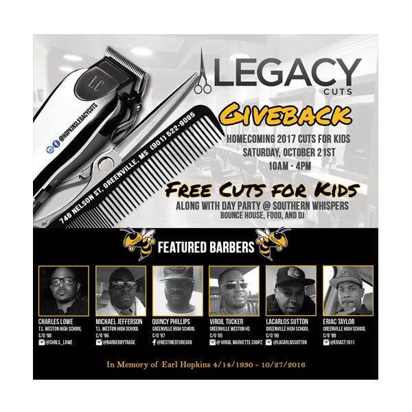 Legacy Cuts