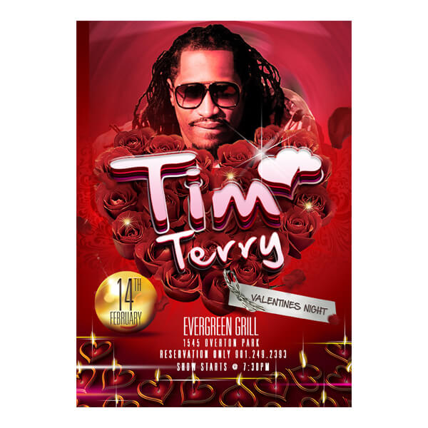 Tim Terry Valentine's Night