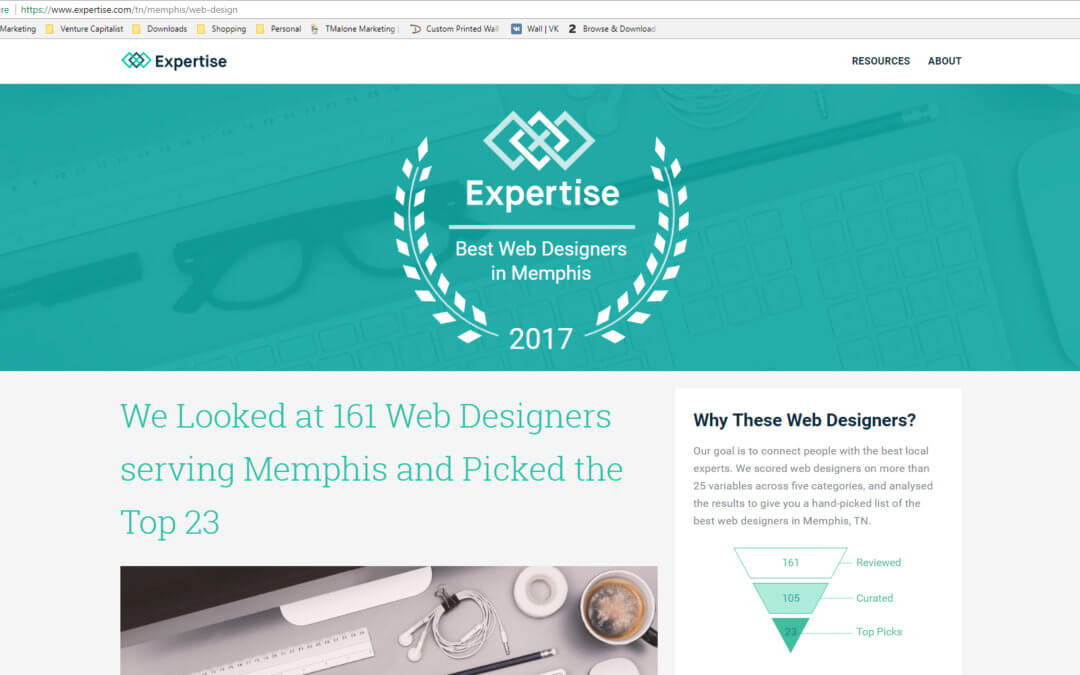23 Best Memphis Web Designers via Expertise