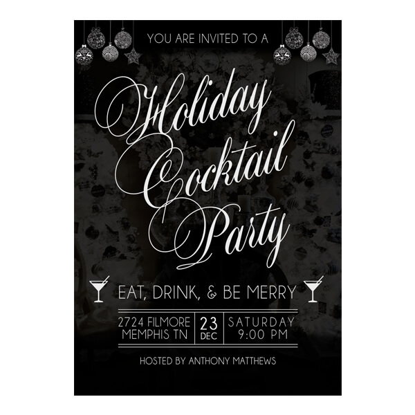 Holiday Cocktail Party