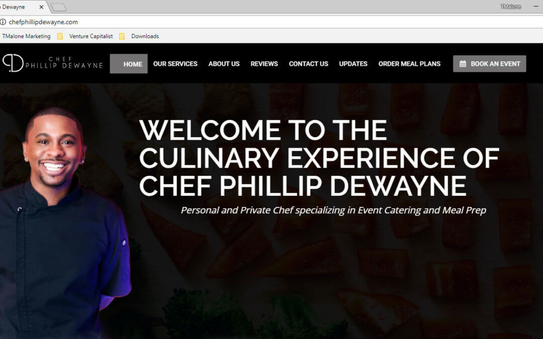 Chef Phillip Dewayne